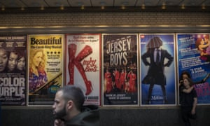 'Why haven't more producers embraced non-traditional casting when it comes to lead roles?' ... a selection of Broadway posters.