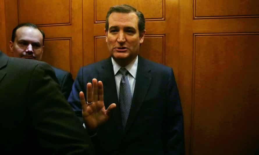'Democrats appear to have a greater allegiance to President Obama than to the safety and security of the American people,' said senator Ted Cruz of Texas, a Republican presidential candidate who left the campaign trail and returned to Washington for the vote.