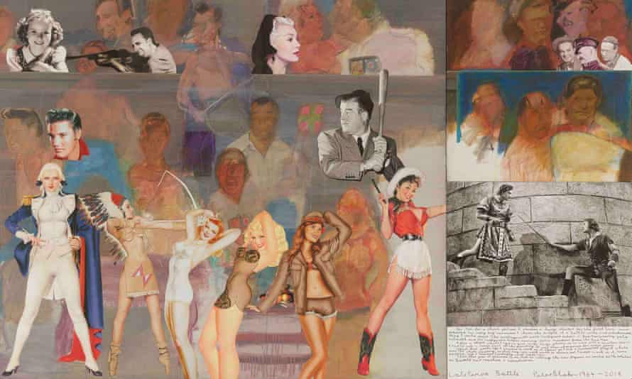 Late Period: Battle by Peter Blake, his largest single picture to date.