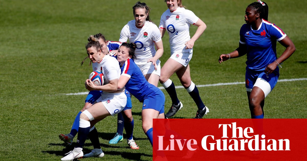 England v France: Women's Six Nations final – live!