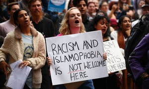 A march calling for Fraser Anning to resign, which was held in Melbourne after the Christchurch shooting