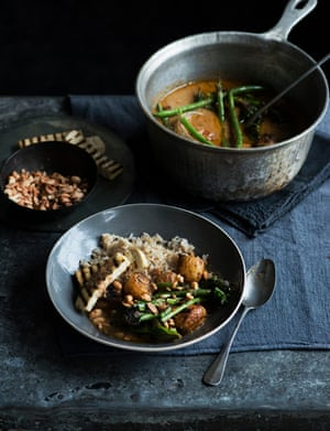 Emily Ezekiel's massaman curry.