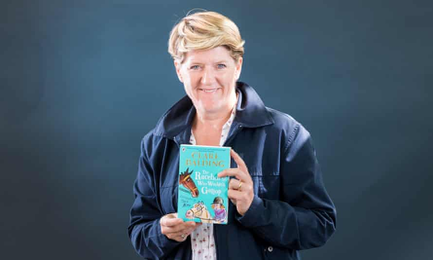Journalist and broadcaster Clare Balding.