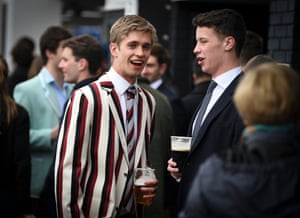 blazers and beer