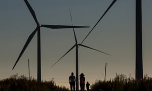 A report found that by 2040, wind and solar would account for 45% of the global power mix.