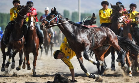 Best photos of the weekend: World Nomad Games and Oktoberfest