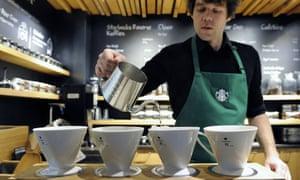The new Starbucks concept store