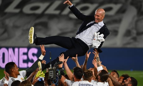 Zinedine Zidane finds his ultimate fulfilment after Real Madrid's title | Sid Lowe
