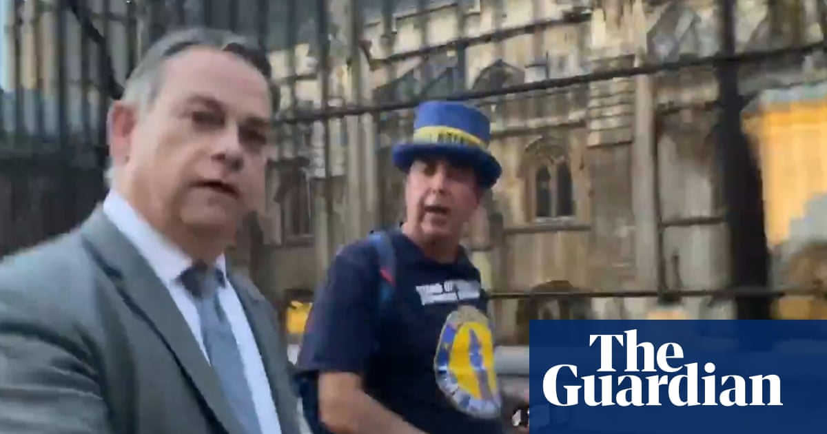Minister refuses to apologise for swearing at 'Stop Brexit man'