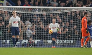 A dejected Kieran Trippier (left) looks to the skies after his bizarre own goal sealed Tottenham's defeat at Chelsea.