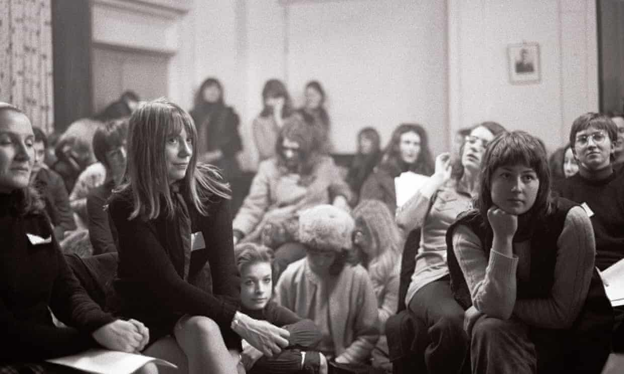 The first Women's LIberation Conference in Oxford in 1970.