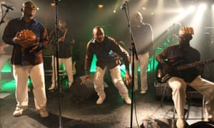 Heading for deserved success … Orchestre Poly-Rythmo.