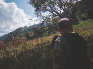 Mexico; Guerrero; Area of Chilpancingo; 2018 Starting the operation of eradication. For years the Mexican army has been committed in fighting against the poppy business. Numbers are impressive as around 84,000 m2 of crop have been eradicated in 2018.