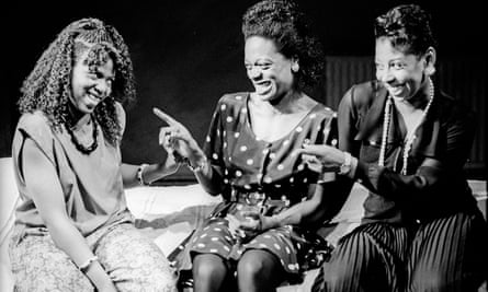 Pamela Nomvete, Cecilia Noble and Joanne Campbell in Talking in Tongues.