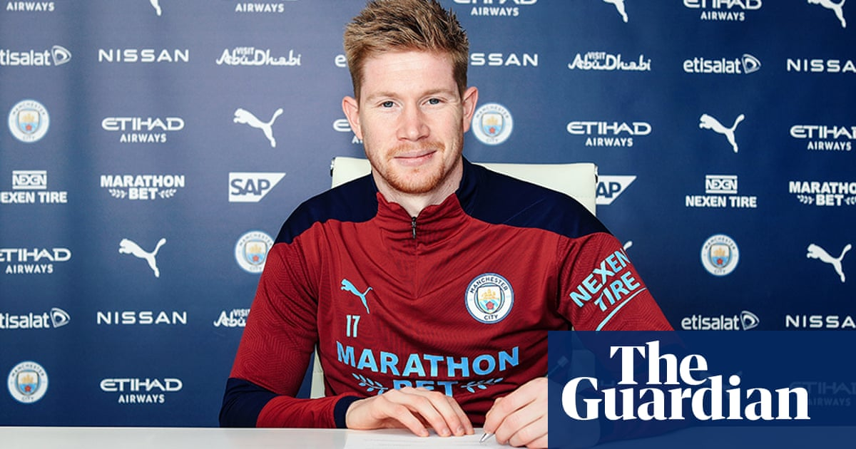 'Very significant moment': De Bruyne signs Manchester City contract to 2025