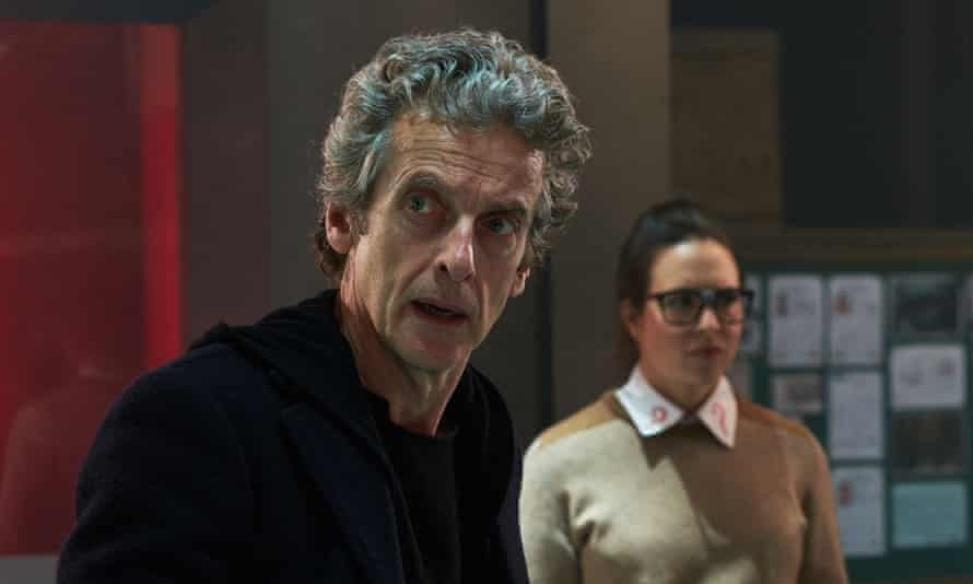 Peter Capaldi with Ingrid Oliver