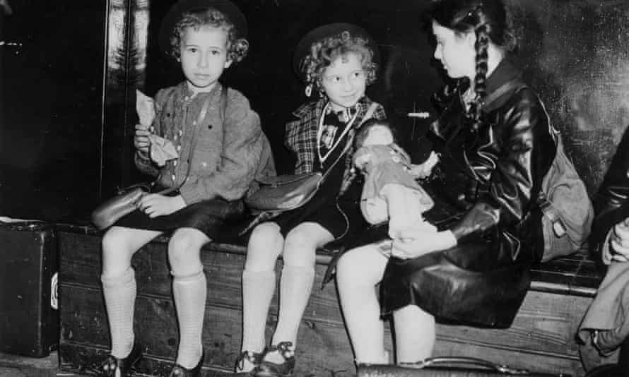 Jewish refugee children from Germany and Austria arrive in Britain on Kindertransport in July 1939: 'I will never forget saying goodbye at the station,' says Ingrid Wuga.