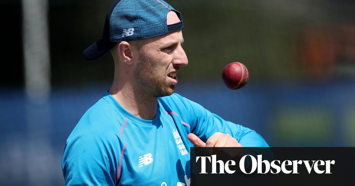 Jack Leach knows India series could secure his ticket to the Ashes