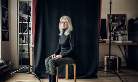 Sally Potter photographed in London at her production office.