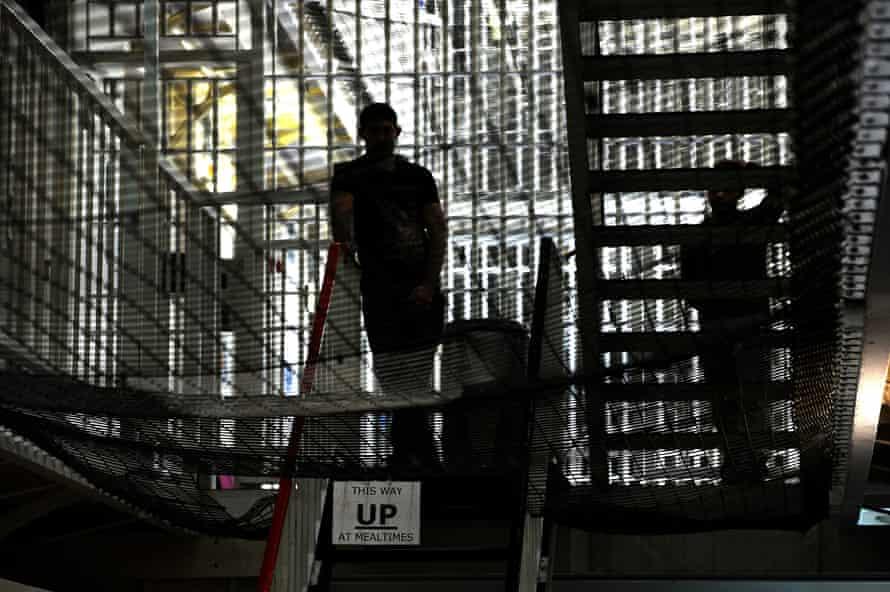 'Tough and unpleasant places' … inside prison.