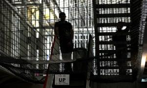 Inside a UK prison