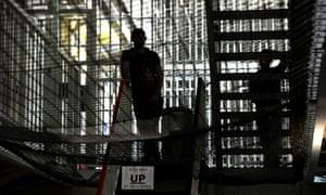 Person in a prison