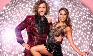 Seann Walsh with his Strictly Come Dancing partner Katya Jones.