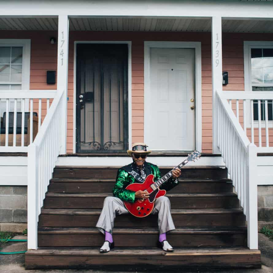 Little Freddie King on not being able to play live during Covid: 'It's like being locked up in the penitentiary. But I thank God it's just about to come back.'