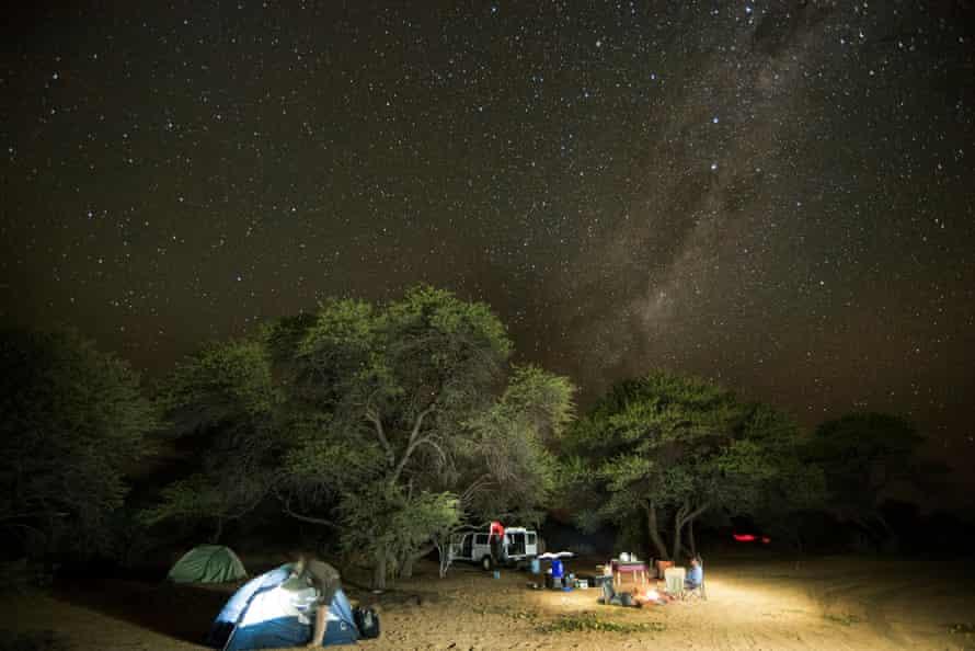 The Kgalagadi transfrontier park
