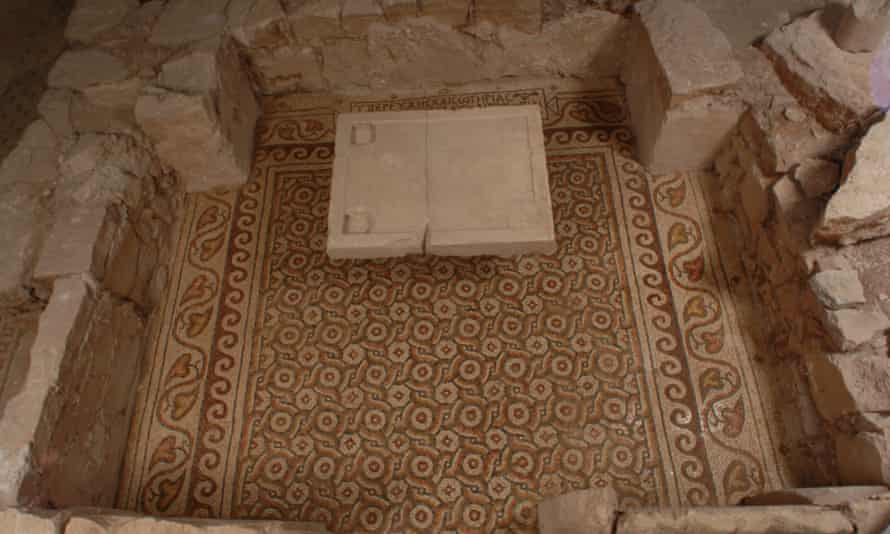 Historical site … Masri uncovered a fifth-century Byzantine monastery.