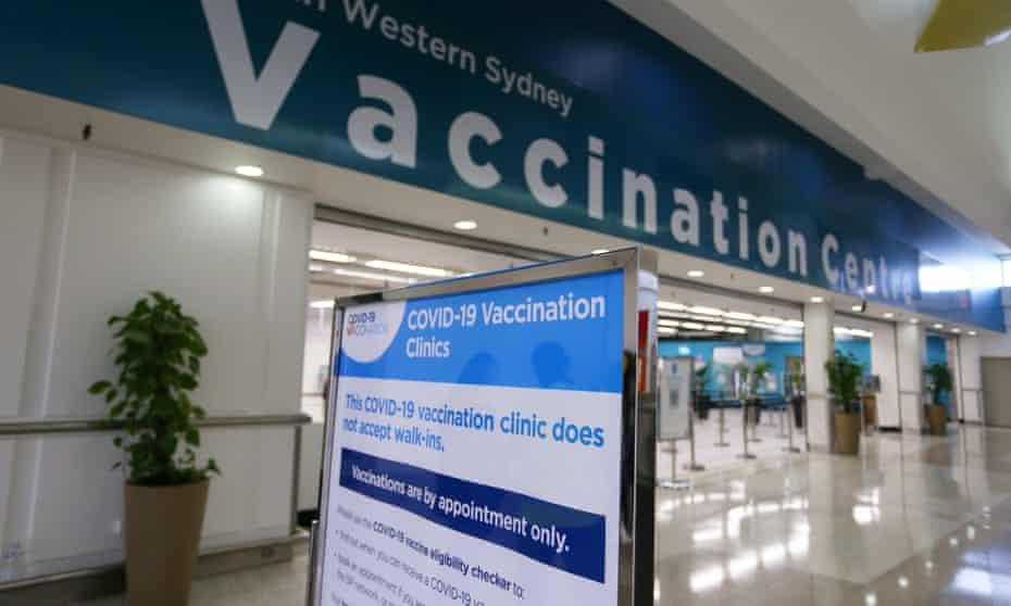Sydney vaccination centre