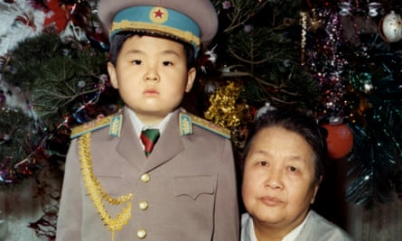 Kim Jong-Nam with his maternal grandmother in 1975.