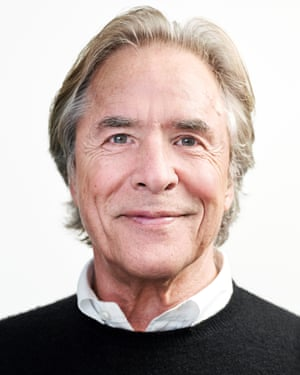Actor Don Johnson, photographed in London.