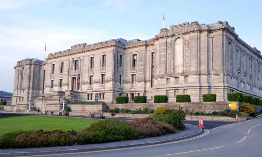 'Unprecedented budget pressures' … the National Library of Wales in Aberystwyth.