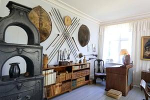 Karen Blixen's desk where Out of Africa was written.