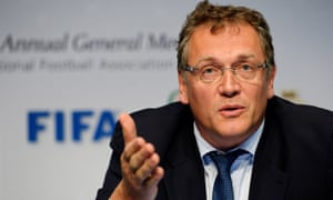Jérôme Valcke, Sepp Blatter's former right-hand man, could follow the president in being handed a hefty suspension.