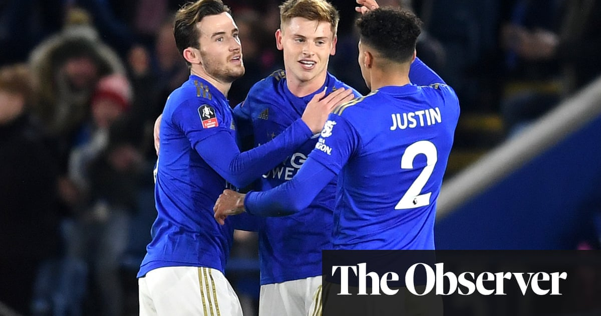 Harvey Barnes fills Jamie Vardy's shoes to fire Leicester past Wigan