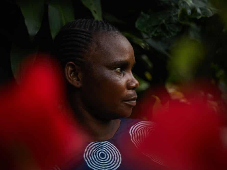 Snake bite survivor Monique Dongo