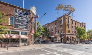 Flagstaff, the setting for Joseph O'Neill's 'disquieting' story The Poltroon Husband