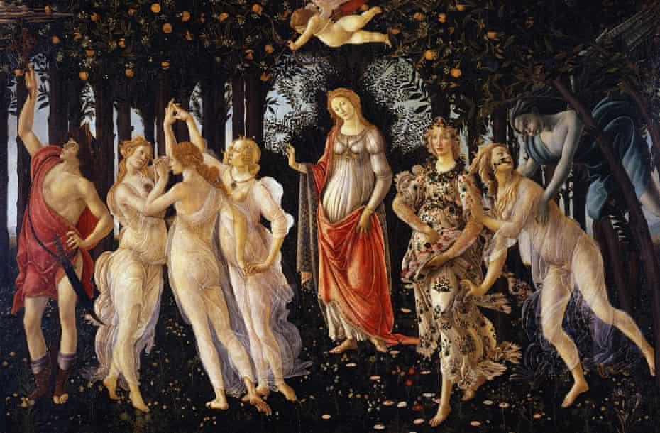 La Primavera by Sandro Botticelli.