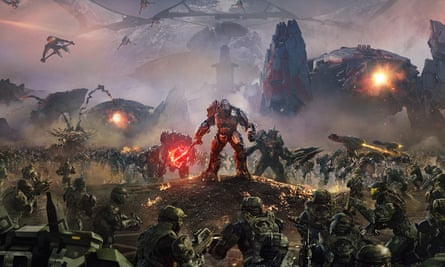 Halo Wars 2 … plenty of shock and awe in its arsenal.
