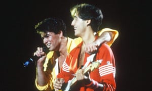 Wham! performing in 1983.