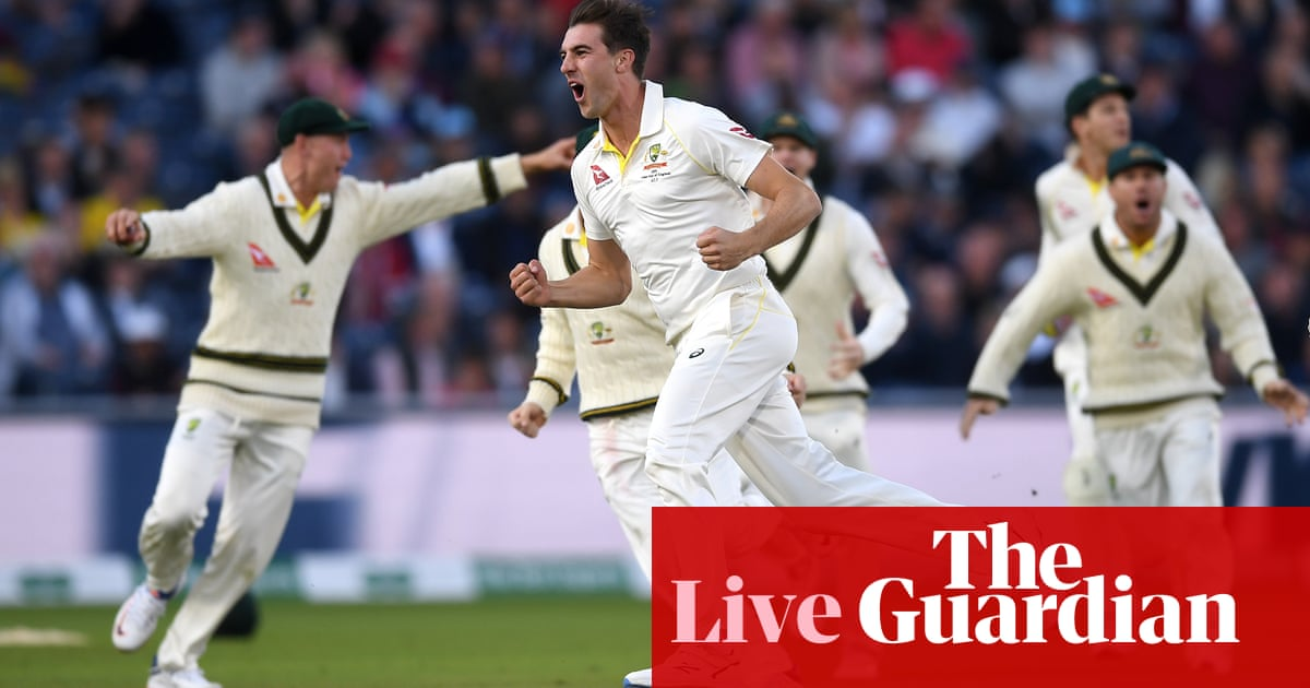 Ashes 2019: England chase 383 runs to beat Australia in fourth Test, day four – as it happened