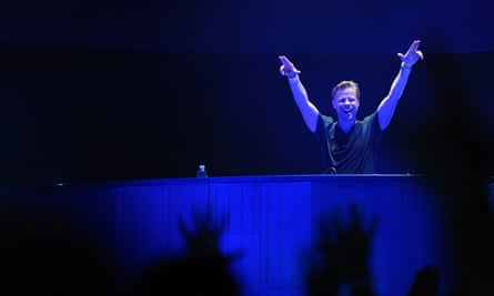 Ferry Corsten: flew around the world to spend a few hours with his daughter.