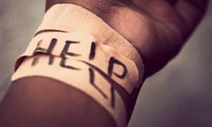 Bandaged wrist