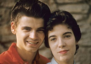 Don Everly and friend, about 1960