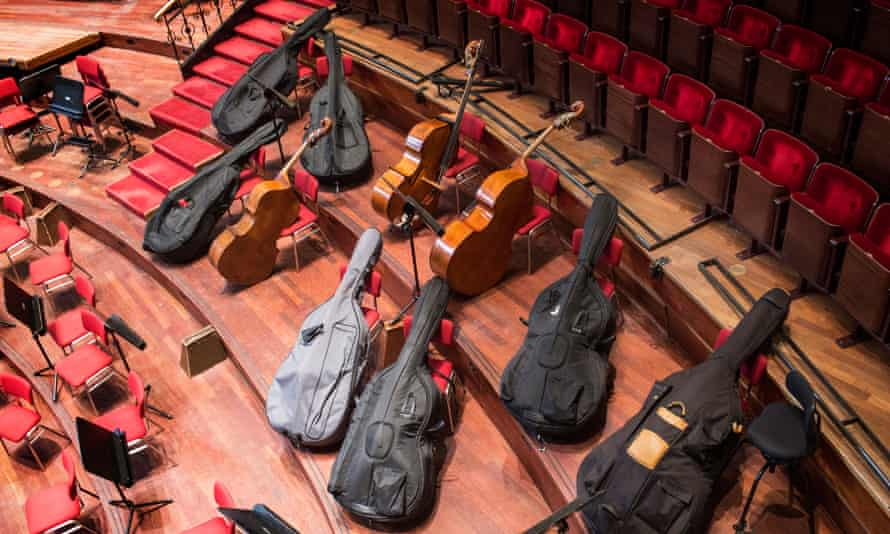 Orchestral instruments and cases