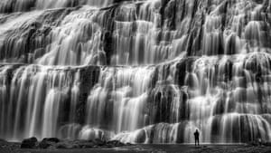 Dynjandifoss waterfall in Iceland