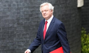 David Davis has questions to answer around what the plan is for charities that will lose EU funding.