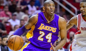 Kobe Bryant in action for the Lakers in 2016.